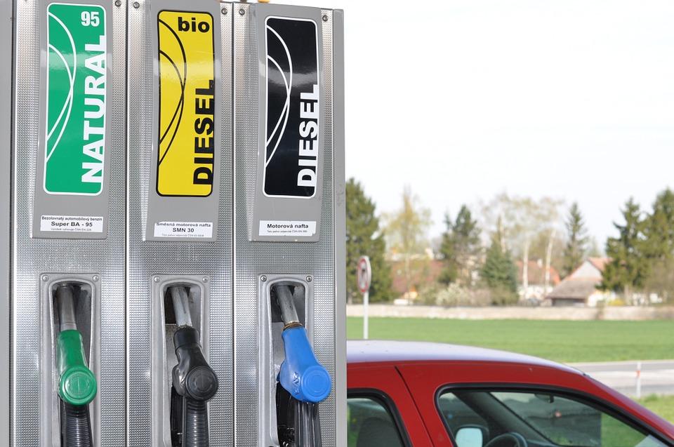 Ceny benzinu i nafty